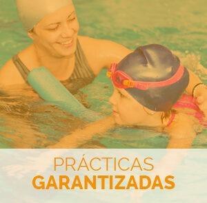 estudiar el curso de monitor de natación para bebés con prácticas garantizadas