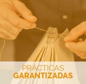 Estudiar el máster en encuadernación artesanal con prácticas garantizadas