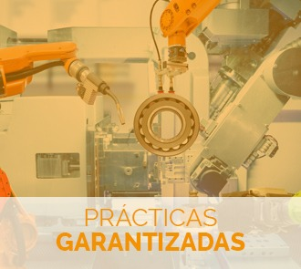 estudiar el máster en robots industriales con prácticas garantizadas