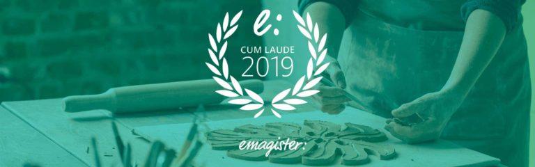 Nos han premiado con el sello cum laude 2019